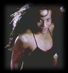 Black Box's skinny front-woman Katrin.